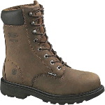 "Mens McKay Waterproof Internal Metatarsal Guard 8"" Steel Toe EH Safety Boot"
