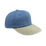 Washed Pigment Dyed Cotton Twill Low Profile Pro Style Two Tone Color Caps