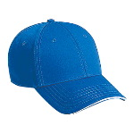 Superior Cotton Twill Sandwich Visor Low Profile Pro Style Caps