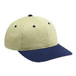 Brushed Cotton Twill Low Profile Pro Style Two Tone Color Caps