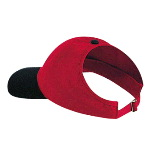 Brushed Cotton Twill Ponytail Low Profile Pro Style Two Tone Color Caps