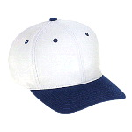 Superior Brushed Cotton Twill Pro Style Two Tone Color Caps