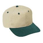 Brushed Cotton Twill Pro Style Two Tone Color Caps
