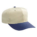 Cotton Twill Pro Style Two Tone Color Caps