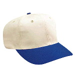 Natural Cotton Twill Pro Style Two Tone Color Caps