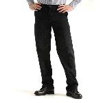 Mens Stain Resistant Plain Front Pants