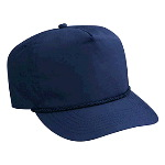 Deluxe Poplin High Crown Golf Style Caps