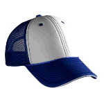 Polyester Foam Front Sandwich Visor Low Profile Pro Style Mesh Back Two Tone Color Caps