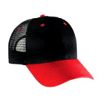 Cotton Twill Low Profile Pro Style Mesh Back Two Tone Color Caps