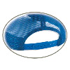 Otto Cap Polyester Foam Front High Crown Golf Style Mesh Back Caps 