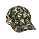 "Camouflage ""Otto Flex"" Low Profile Cap"