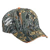 Otto Cap Camouflage Cotton Twill Sandwich Visor Low Profile Pro Style Mesh Back Caps Gray/Khaki/Dark Green