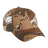 Otto Cap Camouflage Cotton Twill Low Profile Pro Style Mesh Back Caps Khaki/Tan/Brown