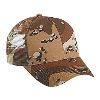 Otto Cap Camouflage Cotton Twill Low Profile Pro Style Mesh Back Caps Khaki/Tan/Brown
