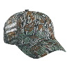 Otto Cap Camouflage Cotton Twill Low Profile Pro Style Mesh Back Caps Gray/Dark Green