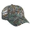 Otto Cap Camouflage Cotton Twill Low Profile Pro Style Mesh Back Caps Gray/Dark Green