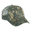 Otto Cap Camouflage Cotton Twill Low Profile Pro Style Mesh Back Caps Dark Green/Khaki/Brown