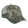 Otto Cap Camouflage Cotton Twill Low Profile Pro Style Mesh Back Caps Dark Green/Khaki/Brown