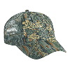 Otto Cap Camouflage Cotton Twill Low Profile Pro Style Mesh Back Caps Gray/Khaki/Dark Green