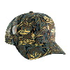 Otto Cap Camouflage Cotton Twill Pro Style Mesh Back Caps Dark Green/Khaki/Brown