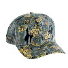 Otto Cap Camouflage Cotton Twill Pro Style Mesh Back Caps Gray/Khaki/Dark Green