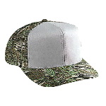 Camouflage Cotton Twill Pro Style Mesh Back Two Tone Color Cap