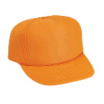 Neon Polyester All Foam High Crown Golf Style Winter Cap