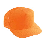 Neon Cotton Twill Low Crown Golf Style Mesh Back Cap