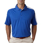 Adult Cool-N-Dry� Sport Shoulder Block Polo