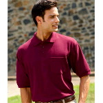 Adult Whisper Pique Polo with Pocket