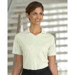 Ladies Moisture Management Polo with Contrast Tipping