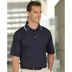 Moisture Management Polo with Contrast Tipping