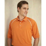Moisture Management Polo with Piping