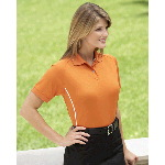 Ladies Moisture Management Polo with Piping