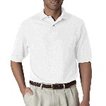 Adult Pique Polo with SpotShield�
