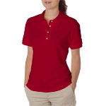 Ladies Ring-Spun Cotton Pique Polo