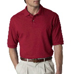 Adult Ring-Spun Cotton Pique Polo