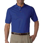 Adult 100% Cotton Jersey Polo
