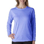 Ladies Heavyweight Long-Sleeve Tee