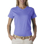Ladies Short-Sleeve V-Neck Tee