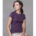 Ladies Short-Sleeve Crewneck T-Shirt