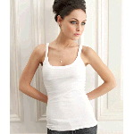 Ladies Catrina Sheer Rib Tank