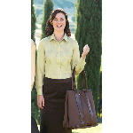 Ladies Nailhead Non-Iron Button-Down Shirt - Regular & Plus