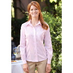 Ladies Non-Iron Pinpoint Oxford