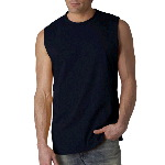 Adult Ultra Cotton Sleeveless Shooter T-Shirt