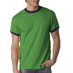 Adult Ultra Cotton� Ringer T-Shirt