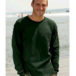 Adult Heavyweight Cotton Long-Sleeve T-Shirt