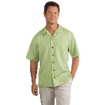 Short Sleeve Easy Care Camp Shirt