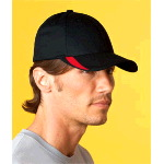 V-Flexfit� Cap with Sweep Profile