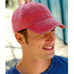 Pigment-Dyed Twill Sandwich Cap